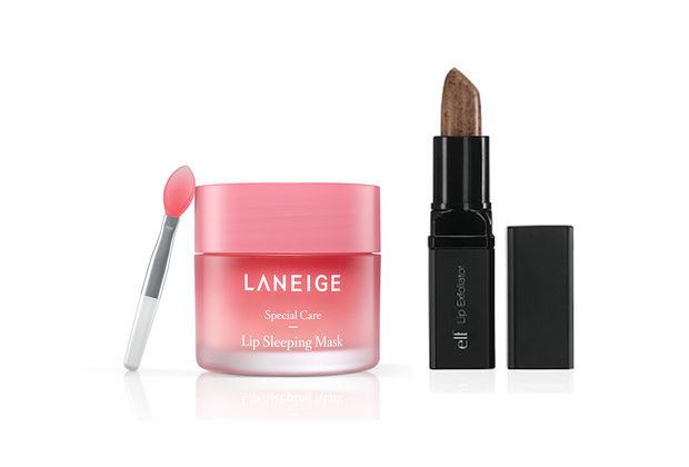 Dưỡng môi toàn diện Kissable Lip Care với tẩy da chết môi elf