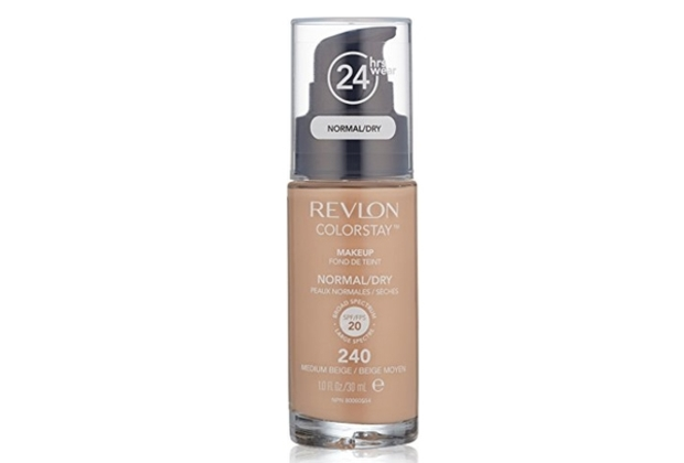 REVLON COLORSTAY/ DRY SKIN -  240 MEDIUM BEIGE