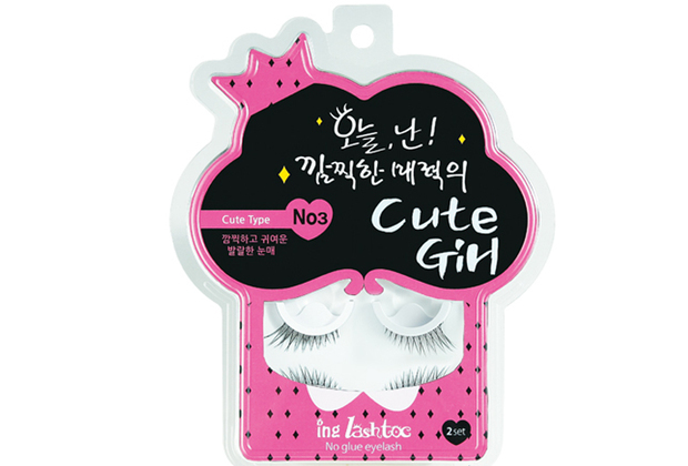 ING LASHTOC NO GLUE EYELASH - NO.3 CUTE GIRL