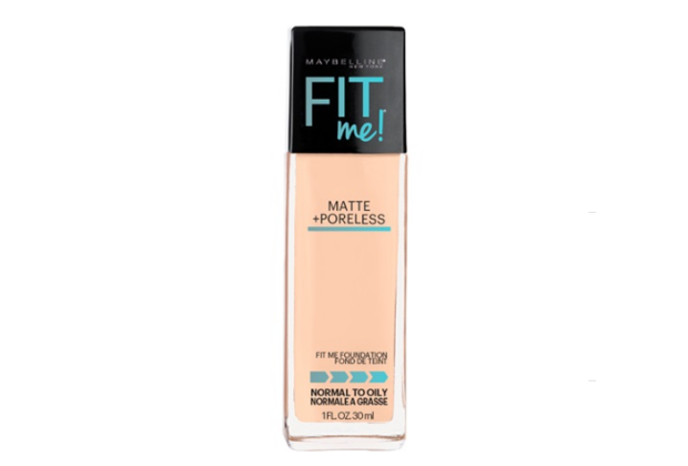 Maybelline Fit Me Matte + Poreless (To Oily Skin) -  120 CLASSIC IVORY