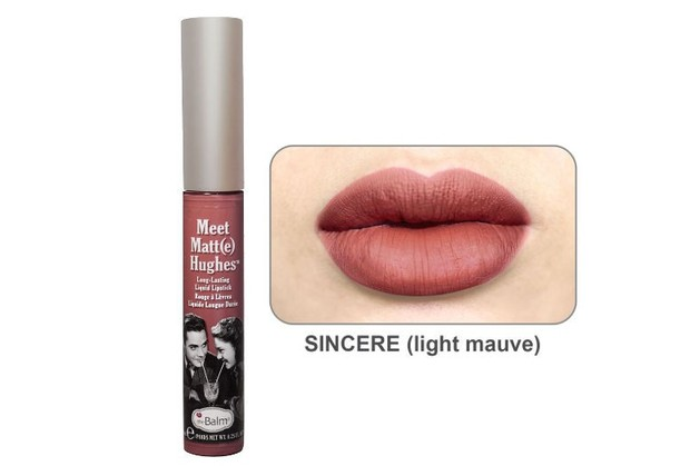 The Balm Meet Matte Hughes Liquid Lipstick - Sincere