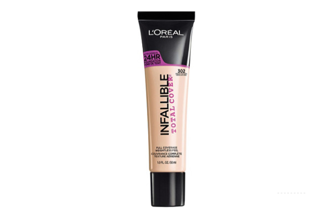 L'OREAL INFALLIBLE Total Cover Foundation - CREAMY NATURAL 302