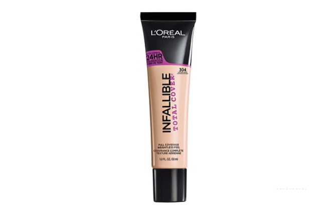 L'OREAL INFALLIBLE Total Cover Foundation - NATURAL BUFF 304