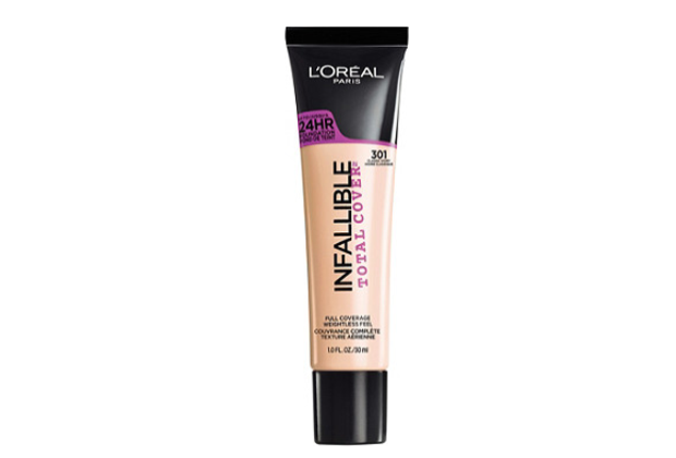 L'OREAL INFALLIBLE Total Cover Foundation - Classic Ivory 301