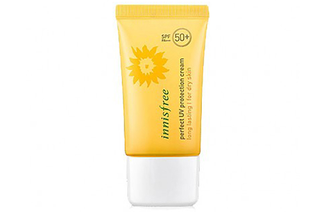 Kem chống nắng Innisfree Perfect UV Protection Cream Long Lasting for dry skin