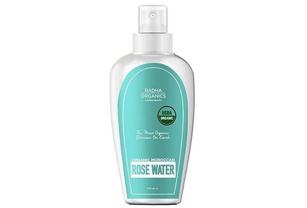 Radha USDA Organics Morrocan Rose Water